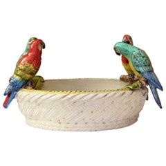 Parrots and Fruits Centerpiece by Ceccarelli