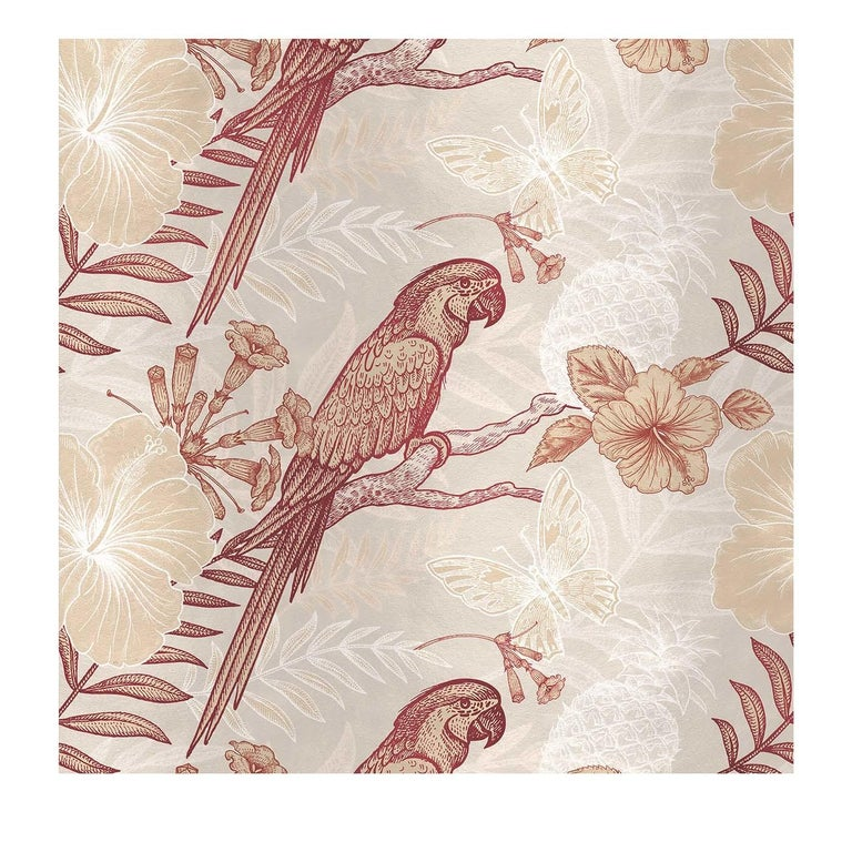 Parrots Ivory Panel For Sale