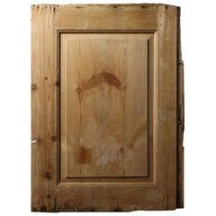Part Stripped Single Panel/Cupboard Door, 20th Century