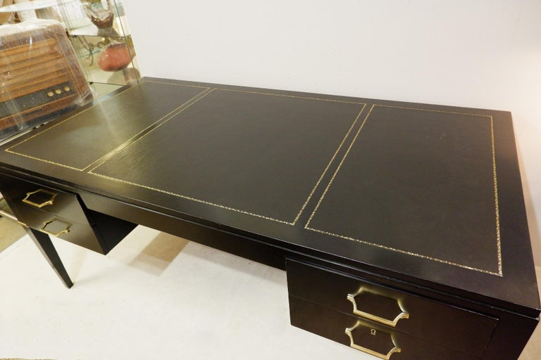 Partners desk by De Coene Frères, Belgium, 1930s.