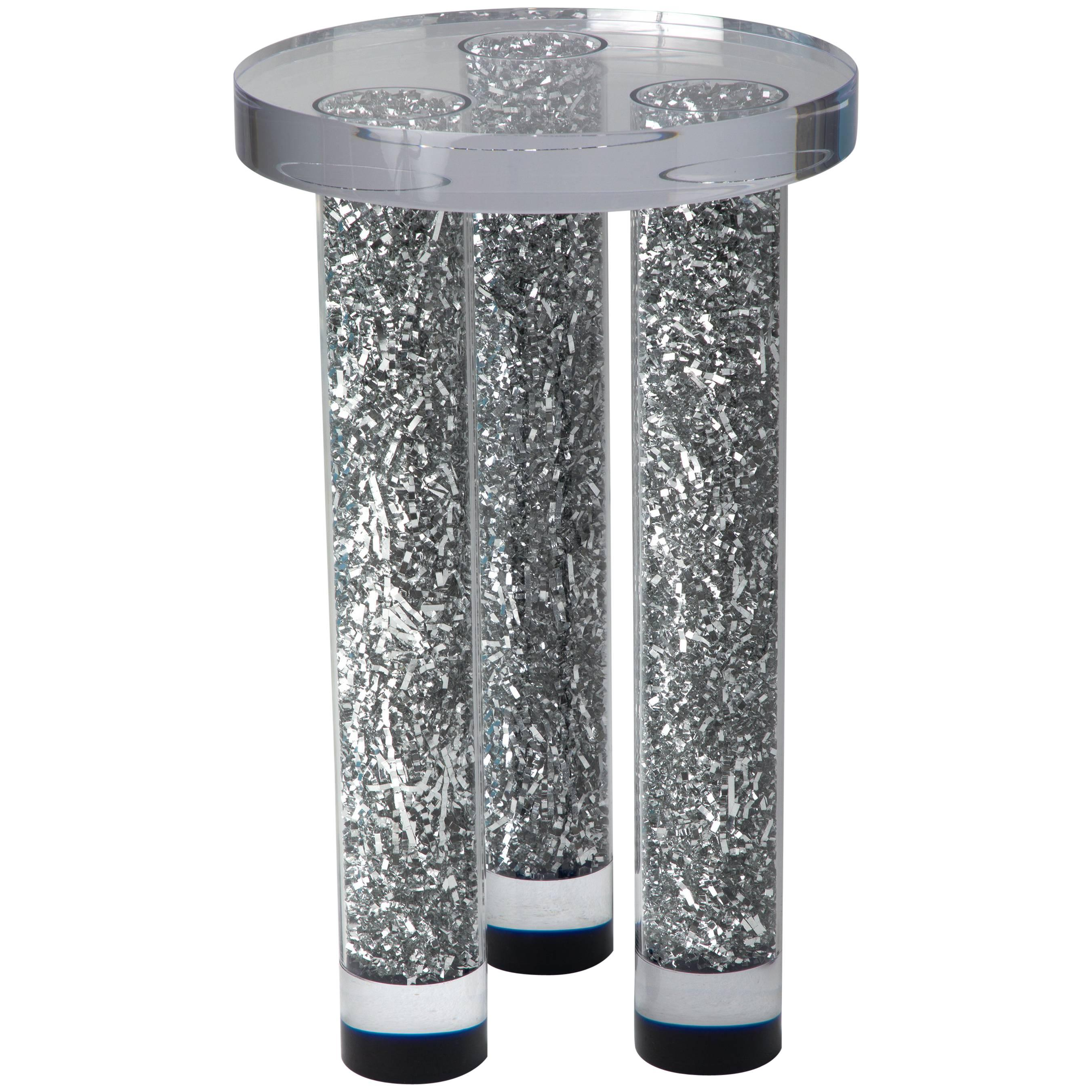 Party on Table by Another Human, Modern Acrylic Side Table