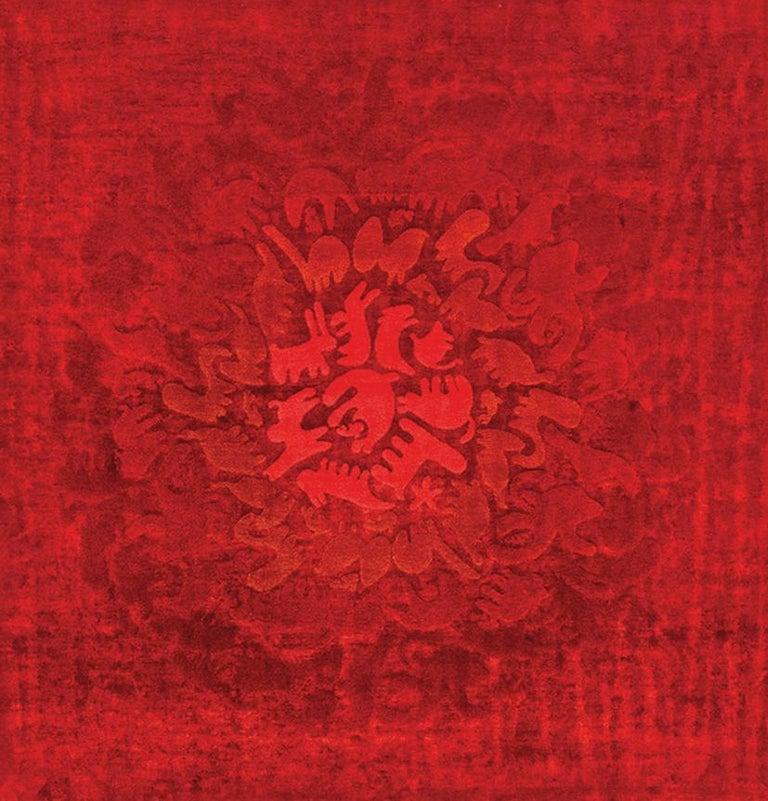 Party Zoo Leinen und Wolle Teppich der Glücklich Teppiche Kollektion von Aldo Cibic 4
