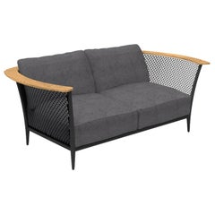 Pascal 2-Seat Outdoor Sofa Dark Gray