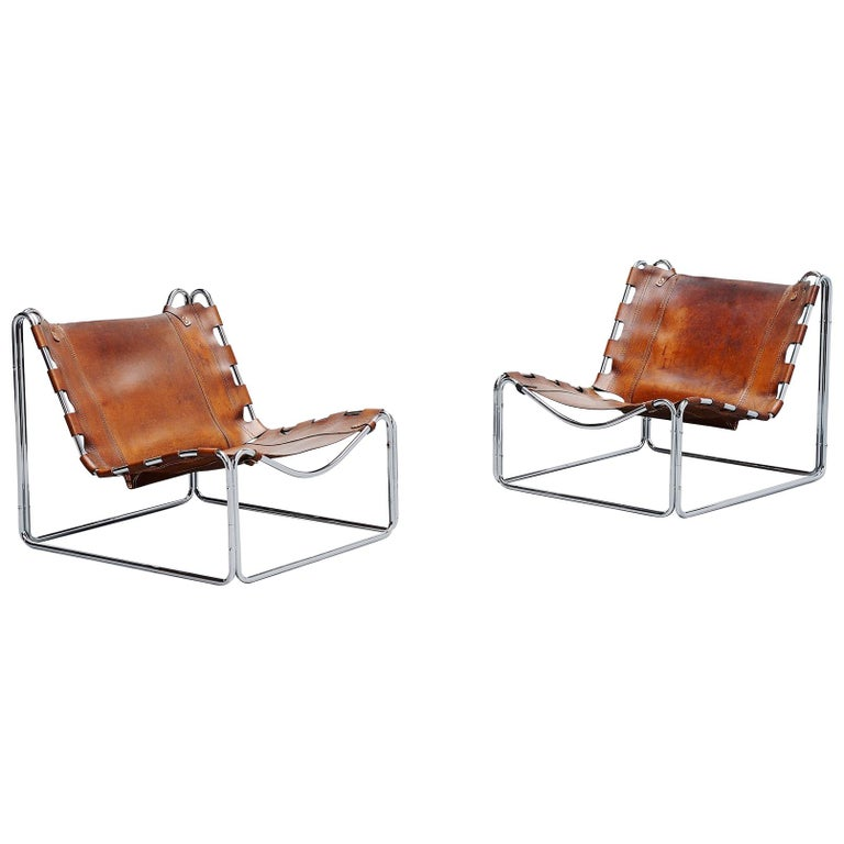 Pascal Mourgue Fabio Lounge Chairs Steiner, 1970 For Sale