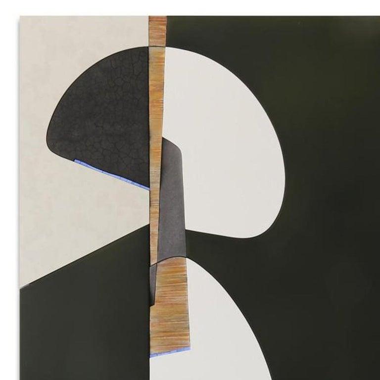 DUAL VERVE 2 - Contemporary Mixed Media Art by Pascal Pierme