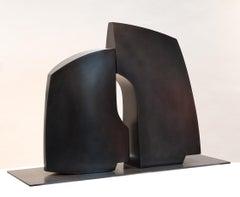 Pascal Pierme - Medium Confidence - steel sculpture