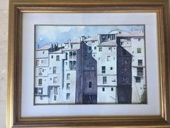 Cuenca- original realist watercolor painting