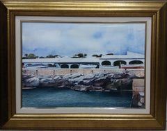 Menorca- original realist watercolor painting