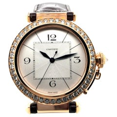 Pasha de Cartier Joaillerie Watch in Rosegold 18 Karat