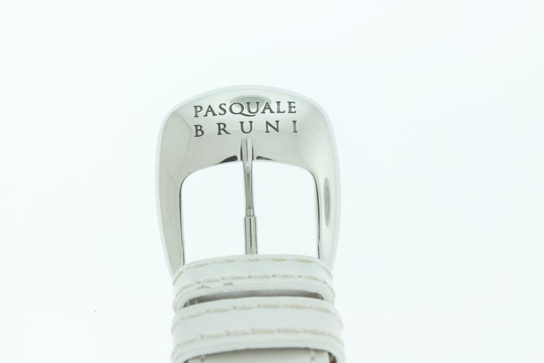 Women's Pasquale Bruni Stainless Steel Diamond Marker Ladies Watch For Sale