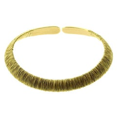 Pasquale Bruni Yellow Gold Choker Necklace