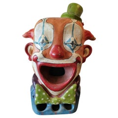 Pass or Eat Ball Representing a Clown French Game