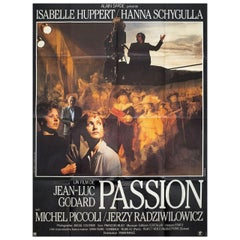 """""""Passion"""" 1982 French Grande Film Poster"""