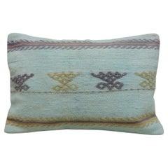 Pastel Colors Kilim Bolster Pillow