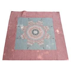Pastel Eight Point Star Quilt