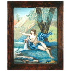 Pastel Painting of Aphrodite Signed Nannette Kenner, 1821