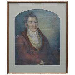 Pastel Portrait of a Biedermeier Gentleman