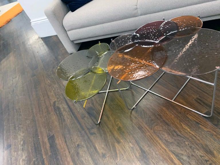 Pastille Glass Side Tables by Sebastian Herkner For Sale 2