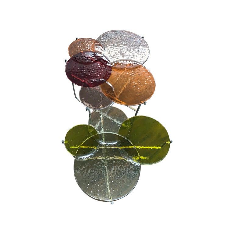 Pastille Glass Side Tables by Sebastian Herkner For Sale