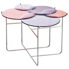Pastille 'Side Table, Large, Red' by Sebastian Herkner