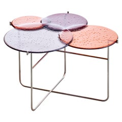 Pastille 'Side Table, Medium, Red' by Sebastian Herkner