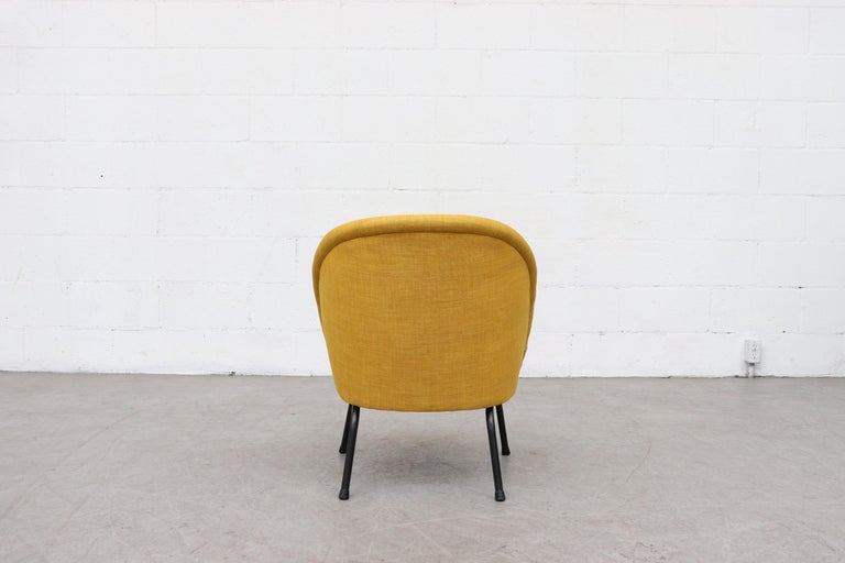 Enameled Pastoe Cocktail Lounge Chair For Sale