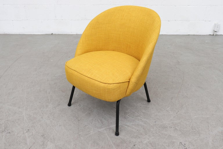 Pastoe Cocktail Lounge Chair In Good Condition For Sale In Los Angeles, CA