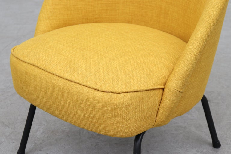 Metal Pastoe Cocktail Lounge Chair For Sale