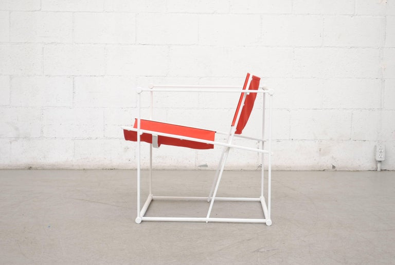 Mid-Century Modern Pastoe Cube Lounge Chair by Radboud Van Beekum For Sale