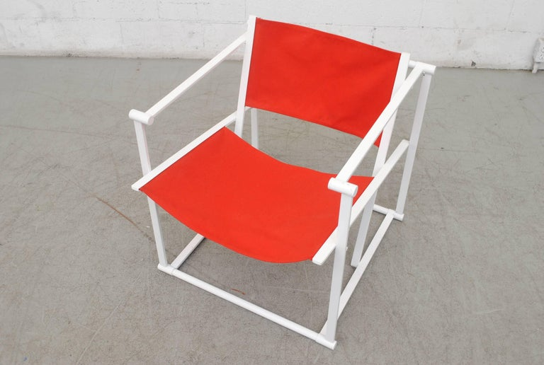 Pastoe Cube Lounge Chair by Radboud Van Beekum In Good Condition For Sale In Los Angeles, CA
