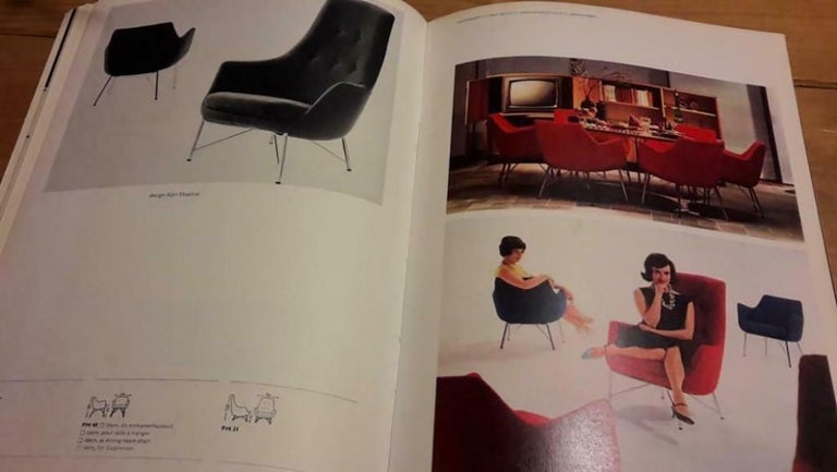 Pastoe FM31 Lounge Chair by Karl Ekselius For Sale 8