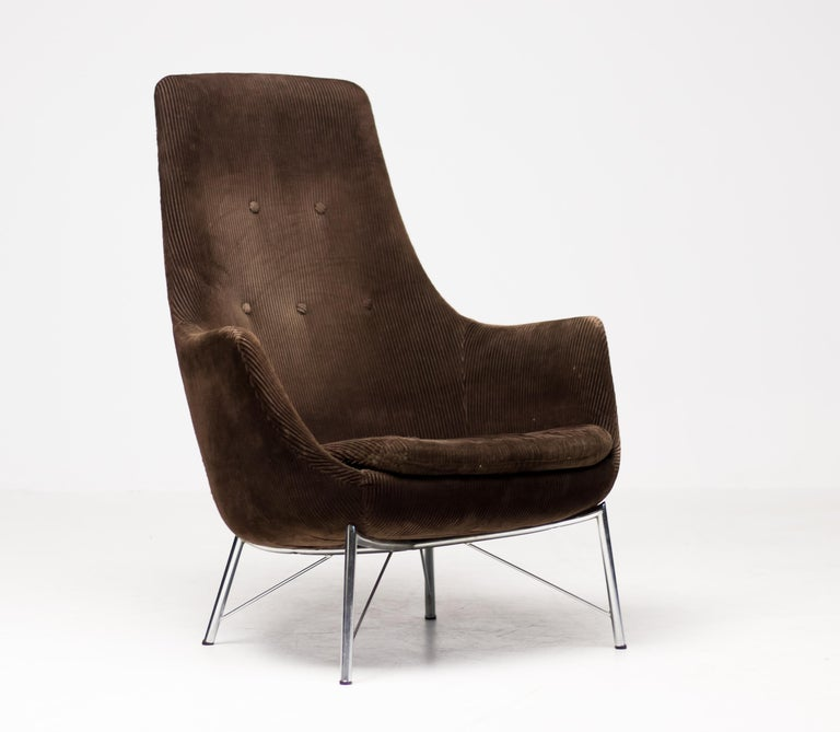 Pastoe FM31 Lounge Chair by Karl Ekselius In Good Condition For Sale In Dronten, NL