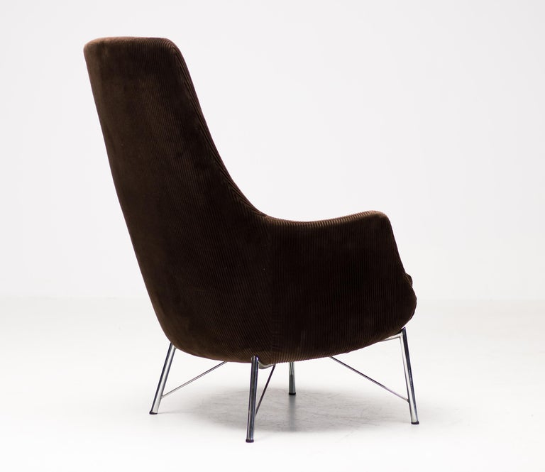 Mid-Century Modern Pastoe FM31 Lounge Chair by Karl Ekselius For Sale