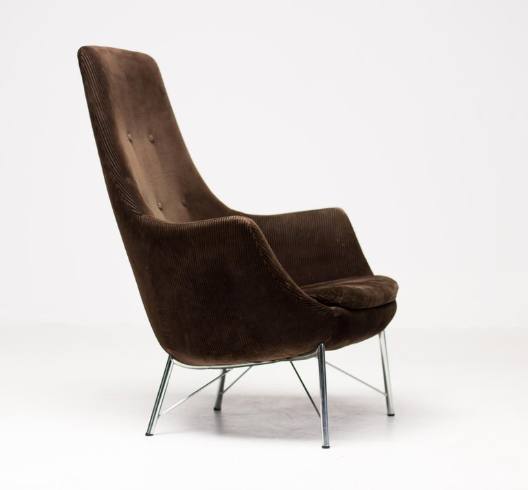 Dutch Pastoe FM31 Lounge Chair by Karl Ekselius For Sale
