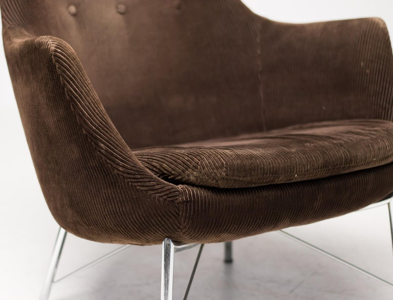 Mid-20th Century Pastoe FM31 Lounge Chair by Karl Ekselius For Sale