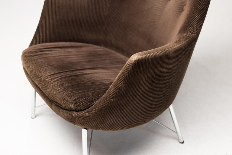 Pastoe FM31 Lounge Chair by Karl Ekselius For Sale 1