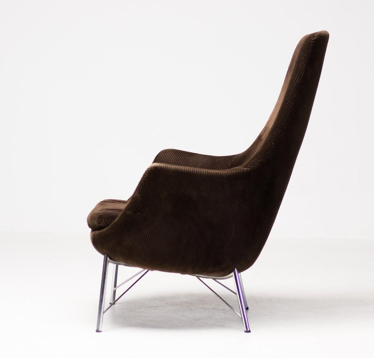 Pastoe FM31 Lounge Chair by Karl Ekselius For Sale 6