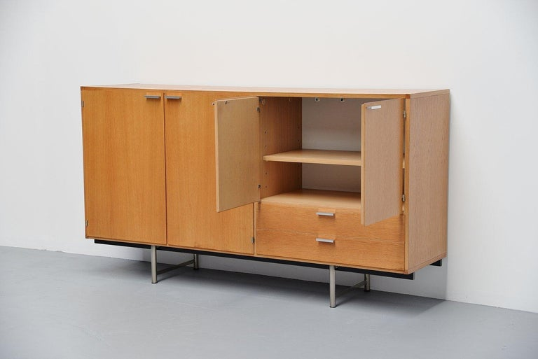 Dutch Pastoe Made to Measure Buffet in Oak, Holland, 1965 For Sale