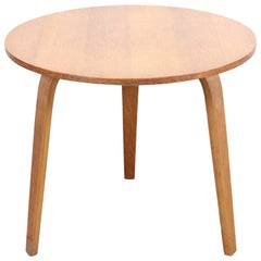 Pastoe Oak Series Round Side Table by Cees Braakman