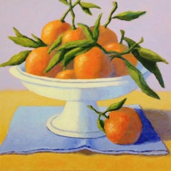 Mandarin Oranges, Oil Painting