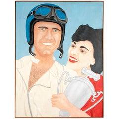 "Pat Jensen Oil on Canvas, ""Classic Manner"""