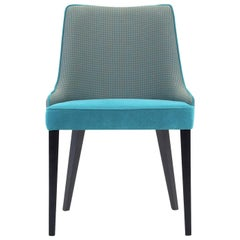 Pat Turquoise/Gray Chair