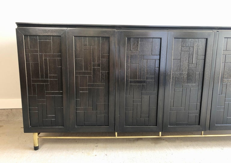 20th Century Patchwork Credenza by John Stuart For Sale