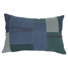 Patchwork Pillowcase Made from Recycled Anatolian Fabrics