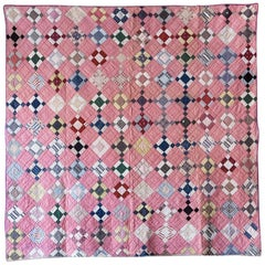 Patchwork Quilt 1930s , USA