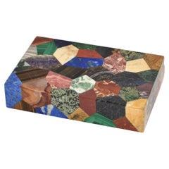 Patchwork Stone Specimen Box