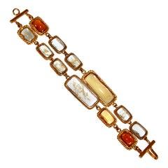 Pate de Verre 2 Strands Bracelet