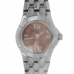 Patek 4880 Neptune Salmon Dial 4880/1A-001 Quartz Ladies Watch