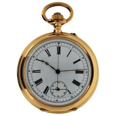 Patek & Cie Chronographe Pocket Watch