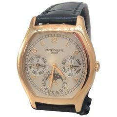 Patek Phiippe Grand Complications Perpetual Calendar Rose Gold Men's Watch 5040R